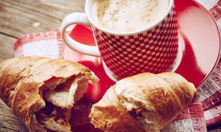 Café Food and Baked Goods at Cafe Aromas Bakery Cafe (Up to 45% Off). Two Options Available.