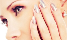 Basic Eyelash Extensions with an Optional Manicure and Blowout with Shampoo at Anna Rianou Salon & Spa (Up to 56% Off)