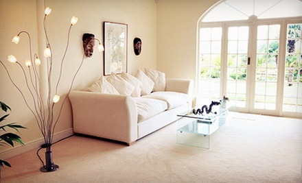 Carpet and Love-Seat Cleaning from Absolute Carpet & Upholstery Care (Up to 53% Off). Two Options Available.