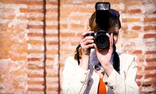 Photography or Photo-Editing Workshop for One or Two at Gwen Morris Studio (Up to 60% Off)