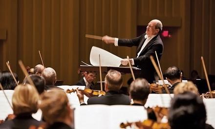 Choice of Atlanta Symphony Orchestra Concert at Atlanta Symphony Hall, April 9–June 6 (Up to 34% Off)