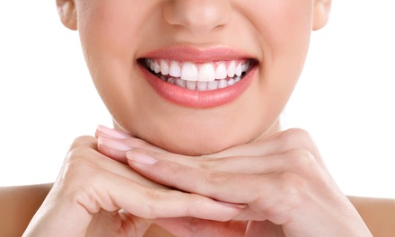 At-Home or In-Office Teeth Whitening from Smile Bright Teeth Whitening (Up to 80% Off). Four Options Available.