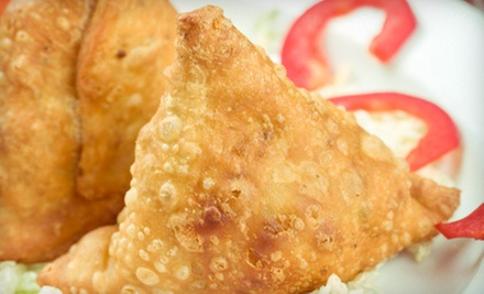 Indian Food and Drinks for Lunch or Dinner at Sitar Indian Cuisine (Up to 52% Off)