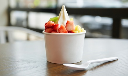 $12 for Two Groupons, Each Good for $10 Worth of Frozen Yogurt at Cultivé Frozen Yogurt ($20 Total Value)