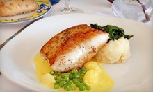 Three-Course French Mediterranean Dinner for Two or Four at Brasserie Monte Carlo (Up to 52% Off)