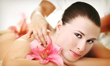 60-Minute Therapeutic Massage with Optional 60-Minute Facial at Scarlett's Retreat Day Spa & Boutique (Up to 53% Off)