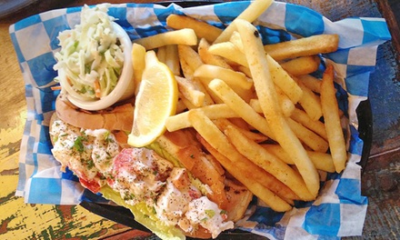 Seafood Dinner Cuisine at Carmine's Crab Shack (Up to 39% Off). Three Options Available.