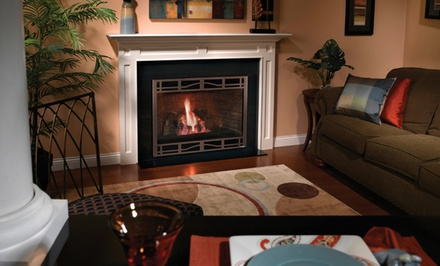$926 for $1,853 Value for Gas-Fireplace and Venting Systems from Fireside Hearth & Home ($1,853 value)