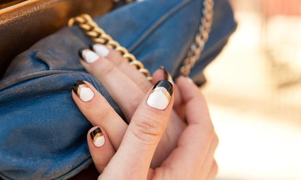 Manicure with Optional Shellac from Melony Peterson at La'Vixen Salon and Spa (Up to 61% Off)