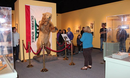 Santa Barbara Museum of Natural History for Two or Four (50% Off)