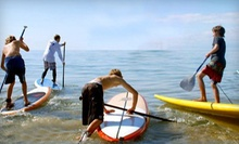 SUP Lesson for One, SUP Rental for One or Two, or Kiteboarding Lesson for One at MACkite (Up to 55% Off)