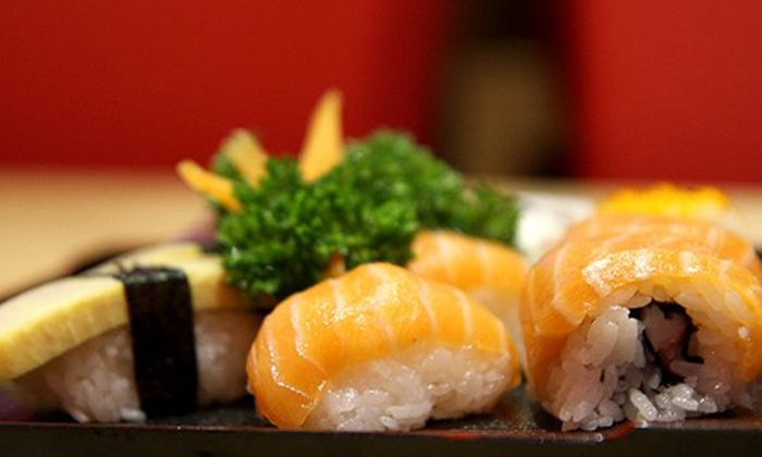 Nagoya - Köln: Japanisches 3-Gänge-Menü für Zwei mit Miso-Suppe, Sushi, Eis und japanischem Pflaumenwein im Nagoya für 23,50 €