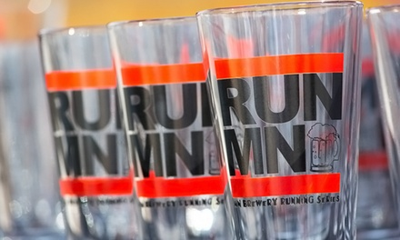 Entry Package for One, Two, or Four to a 5K Fun Run As Part of the Brewery Running Series (Up to 59% Off)
