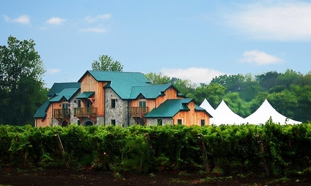 Winery Tour and Cheese and Wine Tasting for Two or Four at Sprucewood Shores Estate Winery (38% Off)