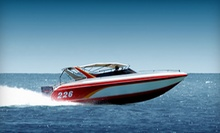 One-Day Ski-Boat Rental with Optional Tube from Beach Island Marina (Half Off)