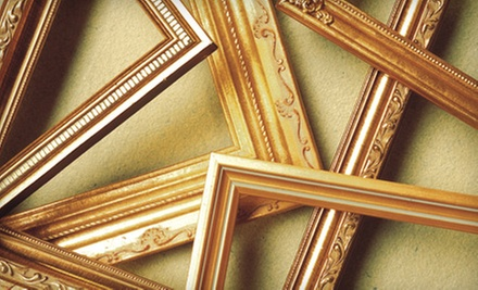 $30 for $100 Worth of Custom Framing Services at FrameStore
