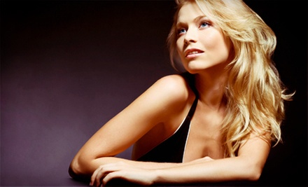 Haircut with Style and Optional Single-Process Color, or Keratin Treatment at a. Salon Galleria & Spa (Up to 55% Off)