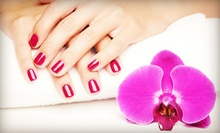 One or Three No-Chip Gelish Manicures from Chanda Jenkins at A Lil Me Time Salon (Up to 56% Off)