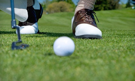 Nine-Hole Golf Outing for Two or Four with Range Balls and Lunch at Healdsburg Golf Club (Up to Half Off)