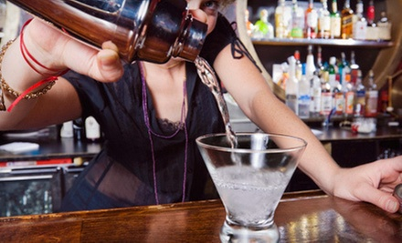 40-Hour Bartending Course with an Option for a Professional Mixing Kit at 123 Bartending (Up to 62% Off)