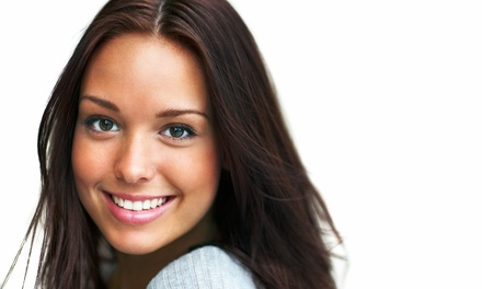 Dental Package with Exam, Cleaning, and X-rays with Optional Whitening Kit from Dr. Wayne Yee (84% Off)