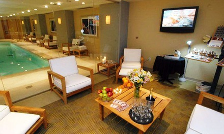 One or Three Facials or Pedicure and Facial at Balance Spa in the Omni Hotel at Independence Park (Up to 43% Off)