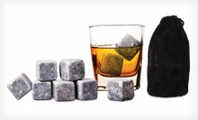 $6.99 for a 9-Piece Set of Reusable Whiskey or Wine Stones ($24.99 List Price). Free Returns.