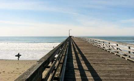 2-Night Stay with Wine Package at On The Beach Bed & Breakfast in Cayucos, CA; Combine Up to 4 Nights.