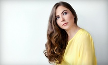 Haircut, Style, and Deep Conditioning with Optional Color or Partial Highlights at Dahlia Hair Studio (Up to 57% Off)