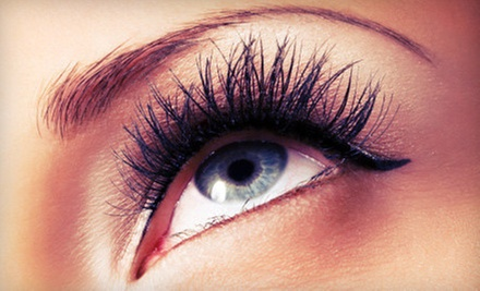 Full Set of Eyelash Extensions with One or Two Optional Fills at Steel Blue Healing Inc (Up to 65% Off)
