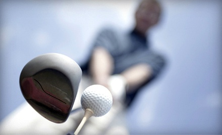 $59 for a Private Golf Lesson, Club Fitting, and One-Month Membership from CompuGolf Center ($225 Value)