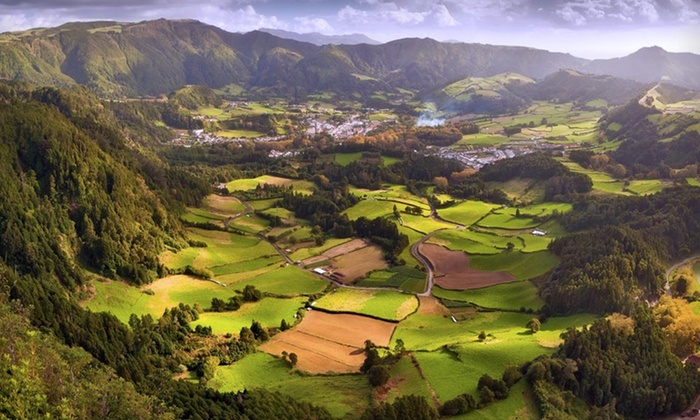 how to get to azores from us