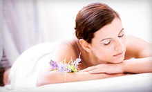 Massage with Body Scrub and Pedicure, or Facial, Mini-Microdermabrasion, and Seaweed Mask at Lia Schorr (Up to 78% Off)