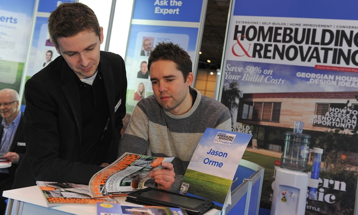 Home Building Show - Marston Green: The National Homebuilding and Renovating Show: Entry For Two for £12 (50% Off)
