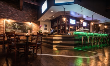 Pub Food and Drinks for Two or Four or More at The Brew & Meatball Co. (40% Off)