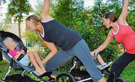 $39 for One Month of Unlimited Stroller Fitness Classes at Baby Boot Camp ($85 Value)