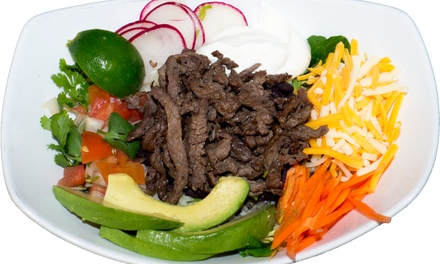 Mexican Food and Drinks at Pica Taco VA (40% Off). Two Options Available.