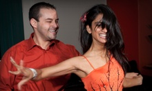 Salsa, Latin, or Ballroom Dance Packages for One or Two from Blueheel Dance Studio (Up to 89% Off)