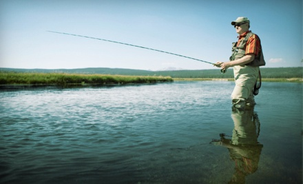 Full Day Fly-Fishing Tour for Two or Fly-Fishing 101 Class from Rocky Mountain Flyfishing Guides (Half Off)