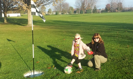 18-Hole Round of Footgolf and Ball Rental for Two, Four, or Six at Huron Hills Golf Course (Up to 53% Off)