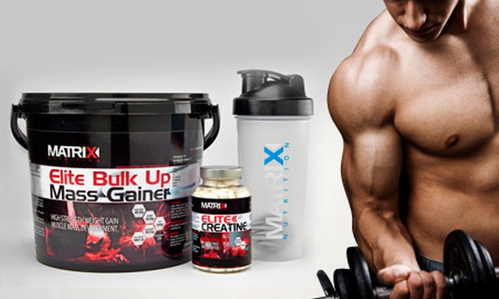 Matrix Nutrition: Matrix Protein Bundle With Powder, Creatine Tablets and Shaker for £39 (61% Off)
