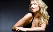 Haircut and Deep-Conditioning Treatment with Optional Highlights from Angela Coubarakis at Le Salon (Up to 62% Off)
