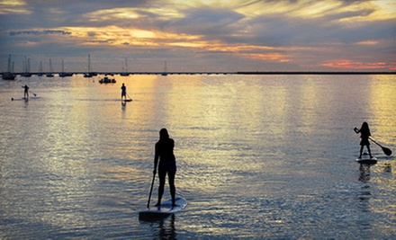 Introductory Standup-Paddleboarding Class for One or Two from Step Into Liquid (Up to 57% Off)