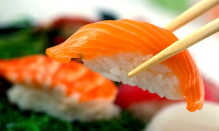 $11 for $20 Worth of Japanese Food for Two at Wasabi Sushi