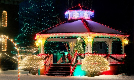 $39 for Two-Hour Holiday-Lights Limousine Tour for One from Twilite Limousine and Tour Co. ($78 Value)