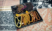 Jewellery and Shawls at TAAAF Boutique (Half Off). Two Options Available.