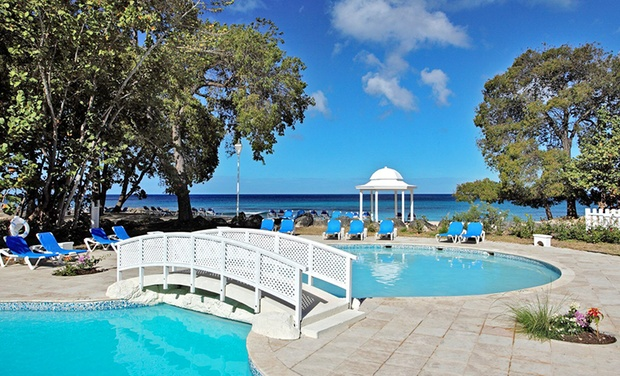 TripAlertz wants you to check out 3-, 5-, or 7-Night Stay for Two with Meal and Drink Plan at Almond Beach Resort Barbados  Beach Resort with Meal Plan in Barbados - Barbados Beach Resort