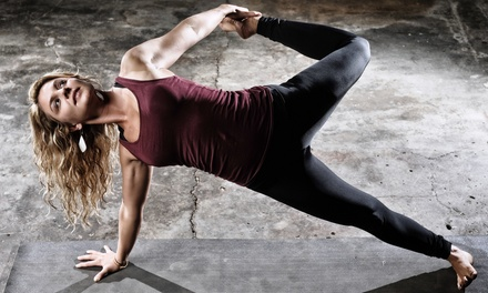 One Month of Unlimited Yoga Classes or 10 Yoga Classes at Yoga Union (Up to 72% Off)