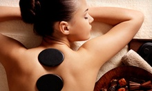 Hot-Stone Massage with Optional Paraffin Treatment and Facial Massage at Embrace Self Wellness (Up to 51% Off)