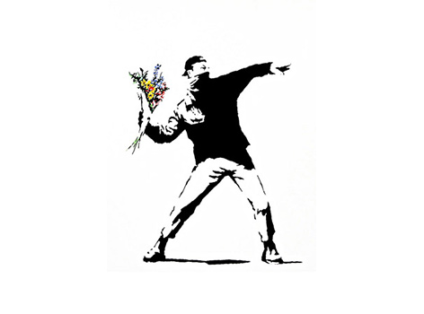 79 99 banksy canvas print in choice of 40 styles includes nationwide